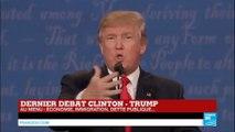"""Présidentielle US - Dernier débat - Donald Trump : """"Poutine est plus malin qu'Hillary Clinton et que Barack Obama"""""""