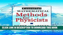 [PDF] Essential Mathematical Methods for Physicists, ISE Full Collection