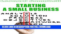 [PDF] Starting A Small Business: Writing Your Business Plan and Starting a Successful Business