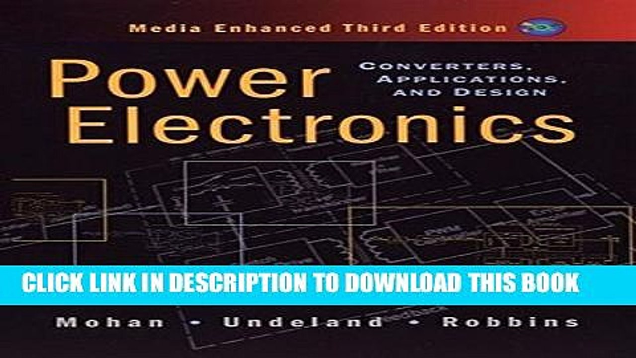 [PDF] Power Electronics: Converters, Applications, and Design Full  Collection