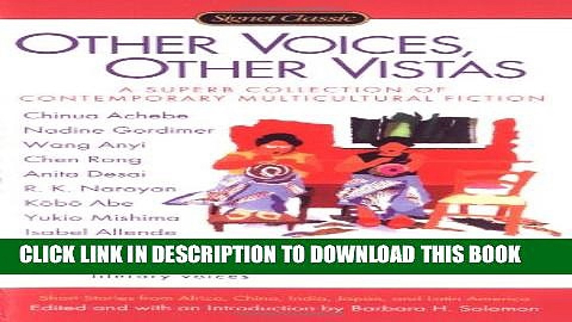 [DOWNLOAD] PDF BOOK Other Voices, Other Vistas: Short Stories from Africa, China, India, Japan,