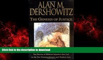 FAVORIT BOOK The Genesis of Justice: Ten Stories of Biblical Injustice that Led to the Ten