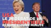 Clinton - Trump : ce qu'il faut retenir du 3e débat de la présidentielle US