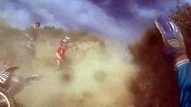Terribles accidents en cascade lors d'une course de motos