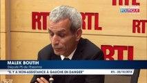 Malek Boutih se détache de François Hollande et pousse Manuel Valls à se présenter à l'élection présidentielle