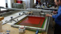 JEAN-PIERRE SERGENT AT WORK III PART 4: THE SCREEN PRINTING