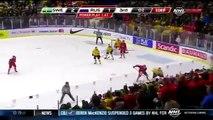 Russia Ice Hockey Players Brutally Beat Sweden Players in Bloody Fight in Sport History 2014-iiHawuIhrjM