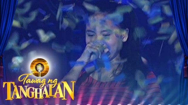 Tawag ng Tanghalan: Jeramie continues her victory!