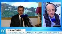 Corse, manifestations de policiers, primaire : Nicolas Sarkozy répond aux questions de Jean-Pierre Elkabbach