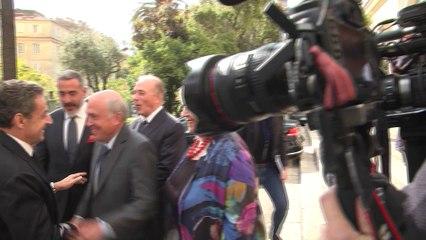 VIDEO : Nicolas Sarkozy en visite à Ajaccio