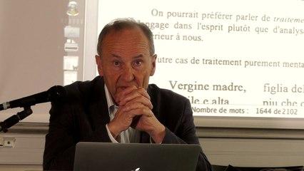 """Benoît de Cornulier - Le """"rythme"""" poétique comme aspects du traitement du langage (Part. 2)"""
