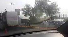 Horrible Accident Near Sawan Adda - 20 October 2016 - Horrible Accident