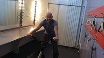 Vincent Warin fait jongler son vélo avec son corps