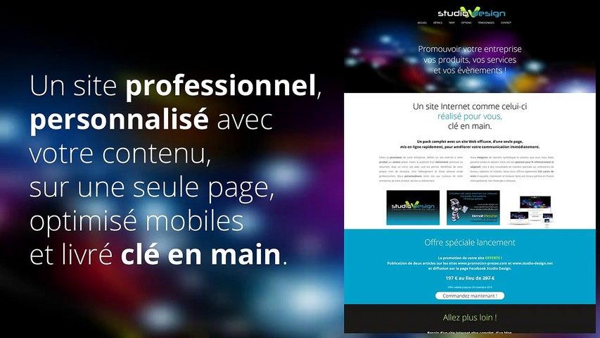Création de Micro Site Web abordables pour les petites entreprises