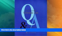 Big Deals  Questions   Answers: Criminal Law- Multiple Choice and Short Questions and Answers