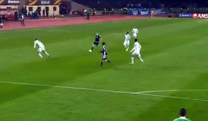 Гол Даниэль Кинтана Соса · Карабах (Акдам) - ПАОК (Cалоники) - 1:0