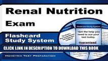 [PDF] Renal Nutrition Exam Flashcard Study System: Renal Nutrition Test Practice Questions