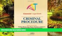 Must Have  Casenote Legal Briefs: Criminal Procedure - Keyed to Haddad, Zagel, Starkman   Bauer