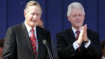 Handwritten Inauguration Day letter George H.W. Bush sent to Bill Clinton in 1993 goes viral