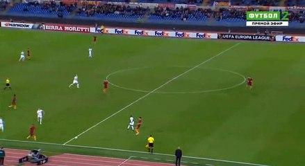 Гол Рафаэль Хольцхаузер · Рома (Рим) - Аустрия (Вена) - 0:1