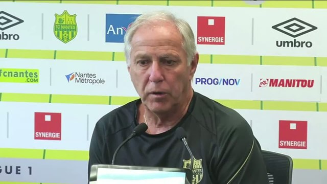 Foot - L1 - Nantes : Girard «Une grande différence entre Rennes et Nantes»