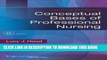 [BOOK] PDF Leddy   Pepper s Conceptual Bases of Professional Nursing New BEST SELLER