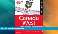 Big Deals  AAA Essential Canada West (AAA Essential Guides: Canada West)  Best Seller Books Best