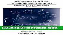 [PDF] Nomenclature of Organic Compounds: Principles and Practice (American Chemical Society
