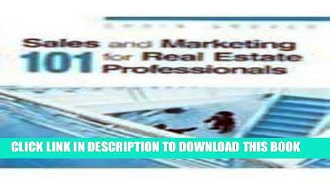 [PDF] Sales   Marketing 101 for Real Estate Professionals Full Online