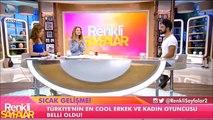 Türkiyenin En Cool Oyuncuları seçildi  Beren Saat ve Kenan İmirzalıoğlu -Kanal D