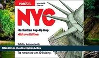 READ FULL  Pop-Up NYC Map by VanDam - City Street Map of New York City, New York - Laminated