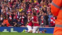 Jack Wilshere's Tiki Taka Goal against Norwich City (19/10/2013)