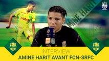 Amine Harit avant FCN-SRFC