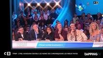 TPMP: Cyril Hanouna dévoile les noms des chroniqueurs les mieux payés (Vidéo)