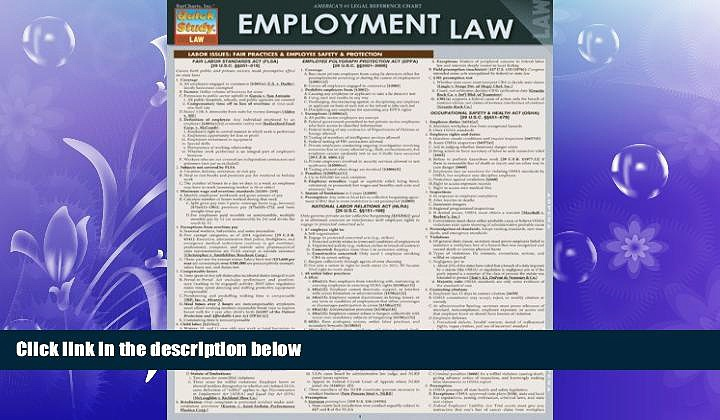 different   Employment Law (Quick Study: Law)