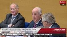 Audition d'Edouard Balladur sur le TAFTA puis de Matthias Fekl sur le CETA - Les matins du Sénat (21/10/2016)