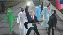 Donald Trump 2016 election parody song: build the wall, ban the Muslims