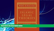 different   A History of Islamic Legal Theories: An Introduction to Sunni Usul al-fiqh