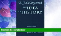 Big Deals  The Idea of History: with Lectures 1926-1928  Best Seller Books Best Seller
