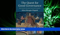 FAVORITE BOOK  The Quest for Good Governance: How Societies Develop Control of Corruption