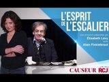 L'esprit d'escalier : Alain Finkielkraut sur le burkini et Emmanuel Macron