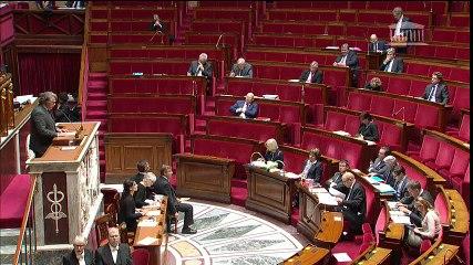 Assemblée Guerres des Hollande Valls à l'extérieur Gilbert Collard