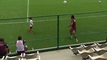 Ronaldinho Freestyle With 7 Year Old Boy!