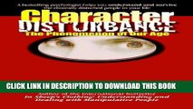 [Read] Ebook Character Disturbance: the phenomenon of our age New Reales