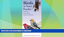 READ  Birds at Your Feeder: A Guide to Winter Birds of the Great Plains (Bur Oak Guide) FULL