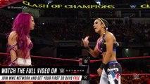 Charlotte vs. Sasha Banks vs. Bayley: Raw Women's Title Match: WWE Clash of Champions on WWE Network