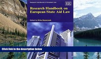 Books to Read  Research Handbook on European State Aid Law (Research Handbooks in European Law
