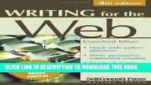 [New] Ebook Writing for the Web (Writing Series) Free Read