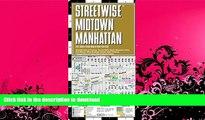 READ BOOK  Streetwise Midtown Manhattan Map - Laminated City Street Map of Midtown Manhattan, New