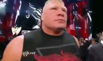 2016 Goldberg and Brock Lesnar returns Brock Lesnar face to face with Goldberg Full HD Wwe Raw